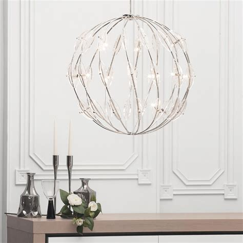 statement ceiling lights 14 light ceiling pendant chrome from litecraft