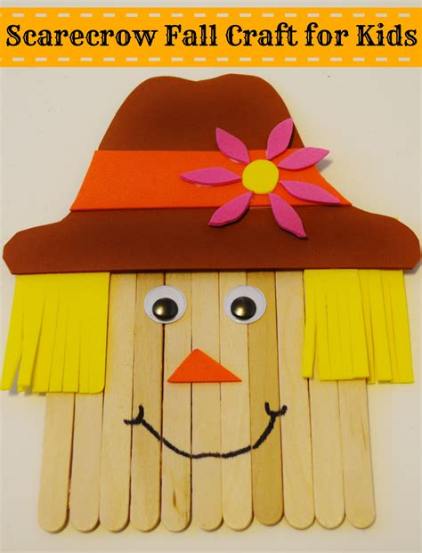 scarecrow craft for autumn archives surviving a teachers salary
