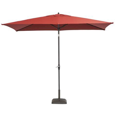 4 ft patio umbrella hton bay 10 ft x 6 ft aluminum patio umbrella in