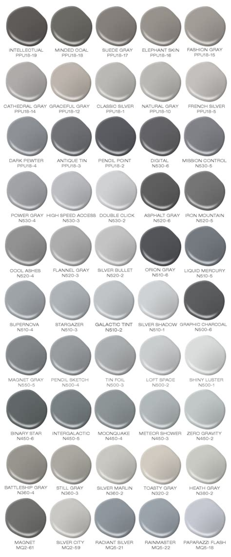 shades of grey colors colorfully behr behr s 50 shades of grey