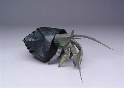 origami hermit crab robert j lang gt origami model gt hermit crab