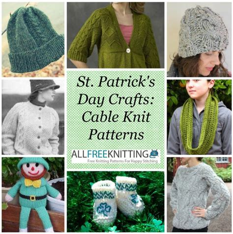 what is st st in knitting st s day crafts 40 cable knit patterns