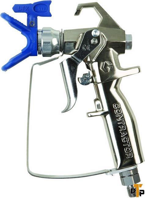 spray painting gun price graco 288420 airless four finger ftx paint spray gun