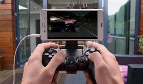 ps4 remote play app now available for xperia z3 devices mymeedia media management simplified