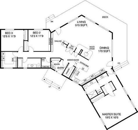 l shaped apartment floor plans plan 77135ld c shaped floor plan house plans house and