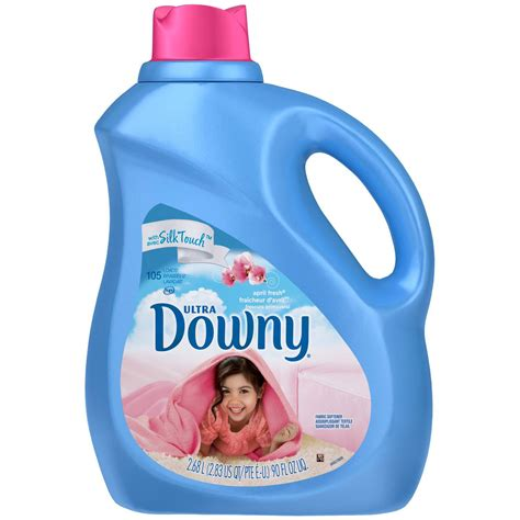 Ultra Downy April Fresh Scent Liquid Fabric Softener 90 Fl