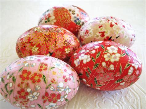 decoupage easter eggs easter eggs decorating ideas modern magazin