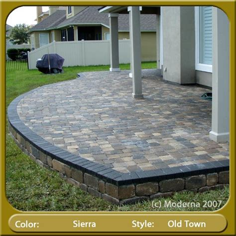 raised paver patio designs pictures for moderna pavers jacksonville in jacksonville