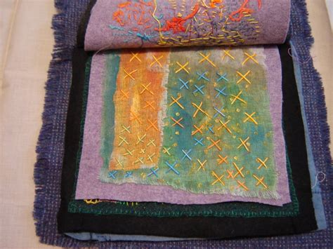 stitching onto fabric embroidery overlaps fabric book of stitch sles