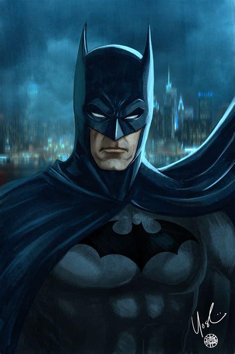 of batman batman portrait by protokitty on deviantart