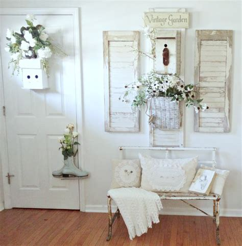 shabby chic cottage decor 25 shabby chic hallway and entryway d 233 cor ideas shelterness