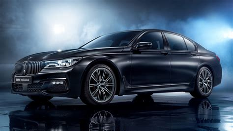 Bmw 7 Series Car Wallpaper by 2017 Bmw 7 Series Black Edition Hd Wallpaper And