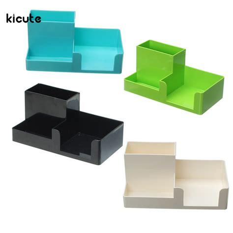designer desk organizer modern design color pen holder container desk