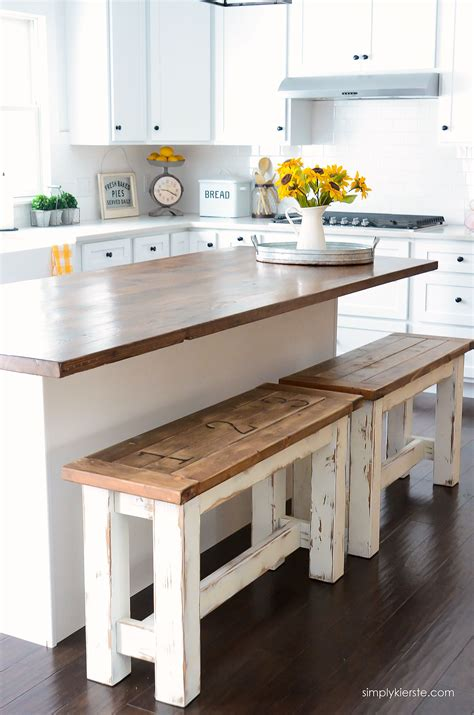 kitchen island bench ideas diy kitchen benches budget kitchen ideas farmhouse style indoors kitchen farmhouse