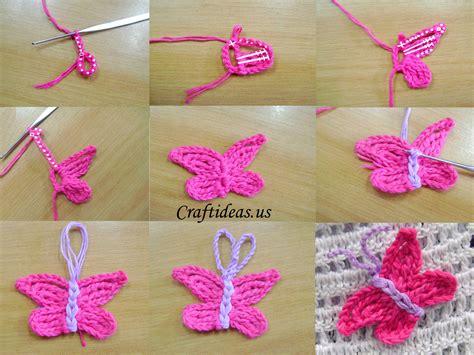 crochet tutorial crochet butterfly tutorial craft ideas