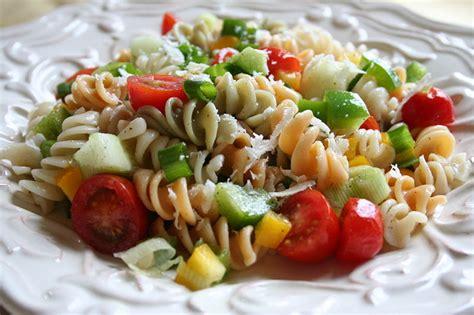 pasta salad recipe pasta salad recipes types primavera bake shapes carbonara