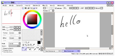 Ubuntu Paint Tool Sai Integration Including Wacom Tablet