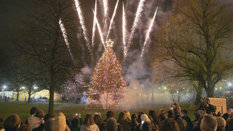 tree lighting boston tree lighting events planned at statehouse boston common