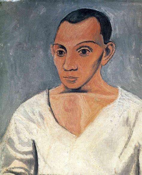picasso paintings portraits self portrait pablo picasso wikiart org