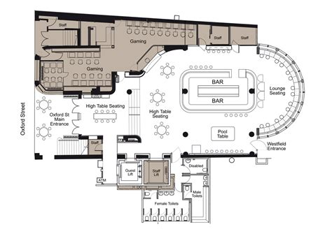 bar floor plans ground bar floor plan brown