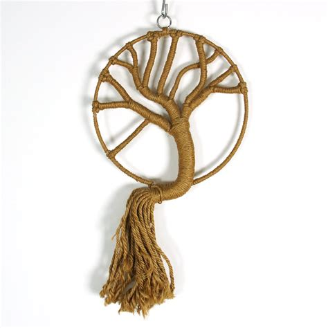 macrame tree pattern 60s macrame wall hanging tree of