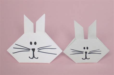 origami bunny origami bunny family crafts