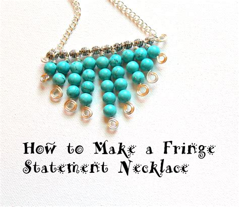 how to make statement jewelry how to make a necklace how to make a unique statement