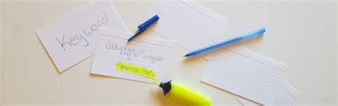 best way to make flash cards 10 college study tips cus homes
