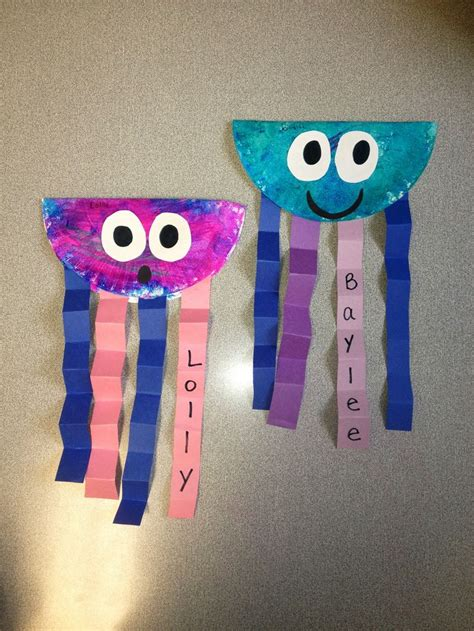 summer construction paper crafts 17 best ideas about paper plate jellyfish on