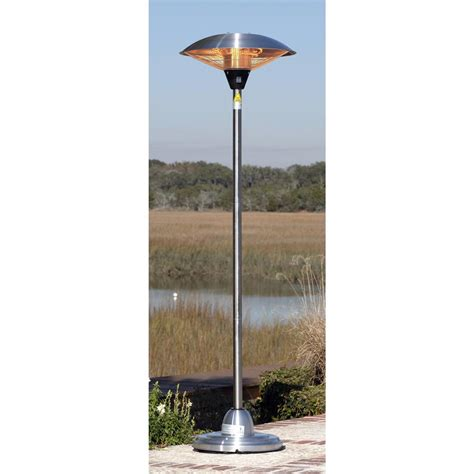sense halogen patio heater sense stainless steel floor standing halogen