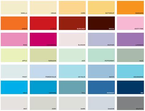 paint colors dulux dulux kitchen bathroom paint colours chart home painting