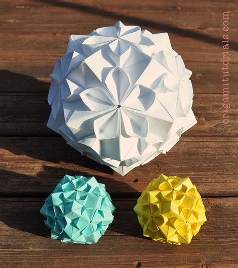 origami sphere tutorial the 25 best ideas about origami on