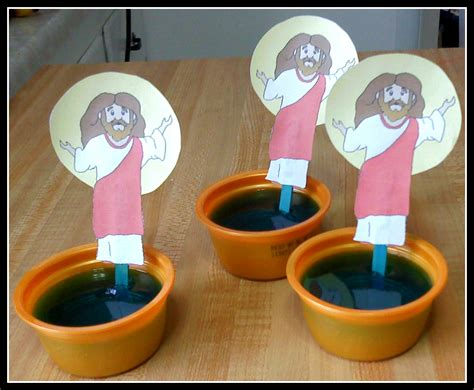 water crafts for the walnut acre chronicles jesus walks on the water