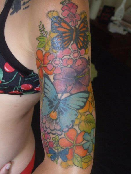 flower garden tattoos flower garden images