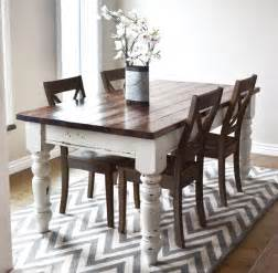 distressed dining room table world chippy distressed paint finish white woodworking projects