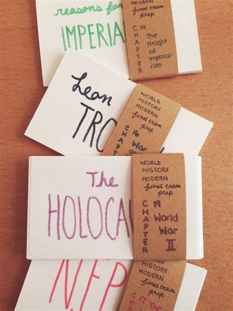 how to make effective flash cards cluster note cards by topic class test to make