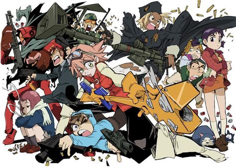Fooly Cooly Anime Photo 22501734 Fanpop