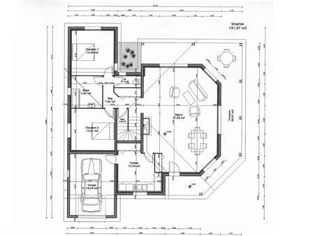 plan maison moderne gratuit tunisie