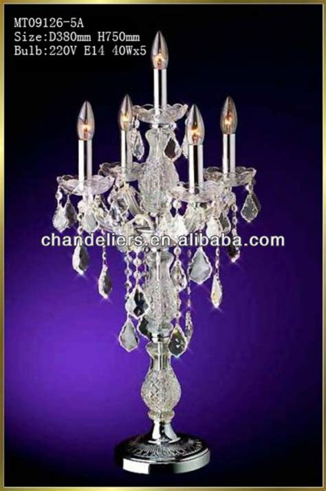 wedding chandeliers cheap cheap chandelier table l for wedding view
