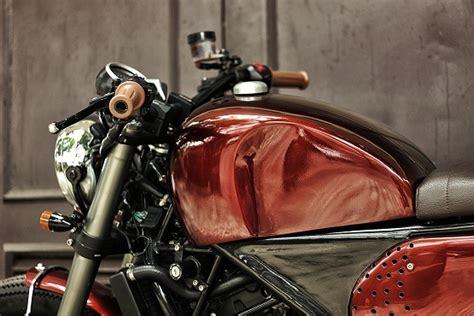 Modifikasi Vespa Gasruk by Modifikasi Motor Honda Cbr250r Gaya Scrambler Klasik 3