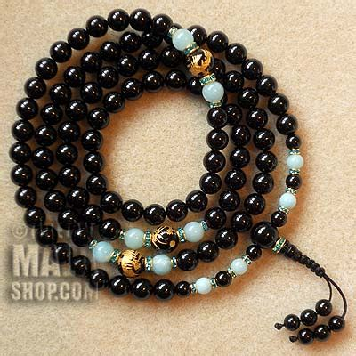 onyx prayer onyx prayer mala buddhist prayer