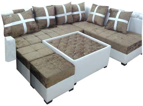 l shaped sofa table delphia l shape sofa set center table and 2