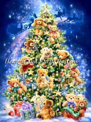 teddy tree teddy tree クロスステッチ chiku chiku garden