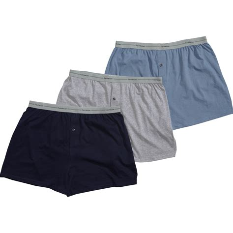 fruit of the loom knit boxers fruit of the loom s 3 pk exposed waistband knit boxer