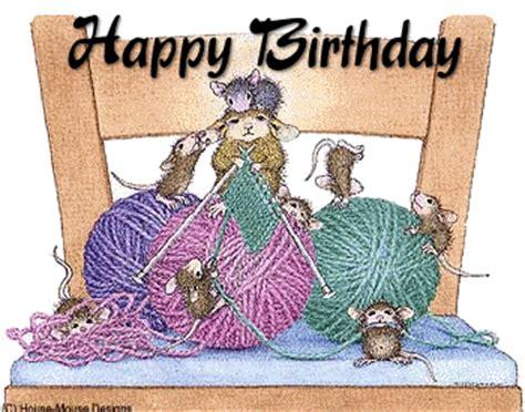 happy birthday knitting happy birthday gif by euler5853 photobucket