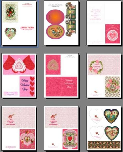 make a card free printable free printable valentines cards