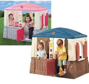 step2 naturally playful neat and tidy cottage today s best deals for playmobil rescue boat step2