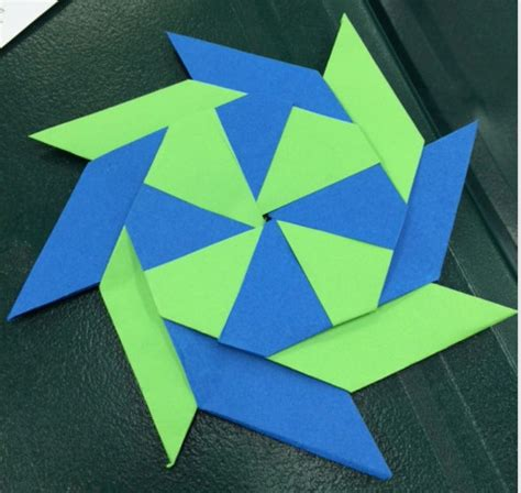origami pinwheel origami pinwheels if then creativity gifted museum