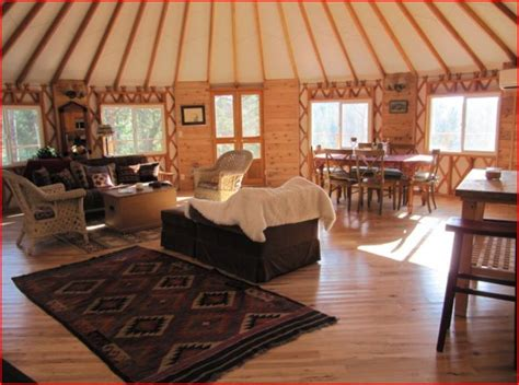 luxury river yurts yurts