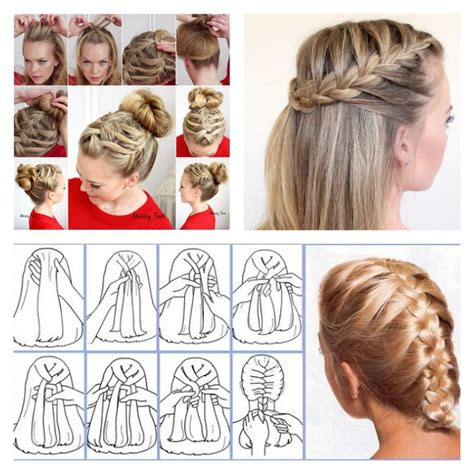 how to put on braided hair 16 stylish braid hairstyle tutorials beesdiy